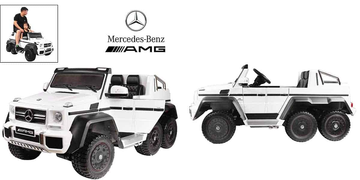 Mercedes Benz AMG G36 – Huge SUV with a Seat for Parents