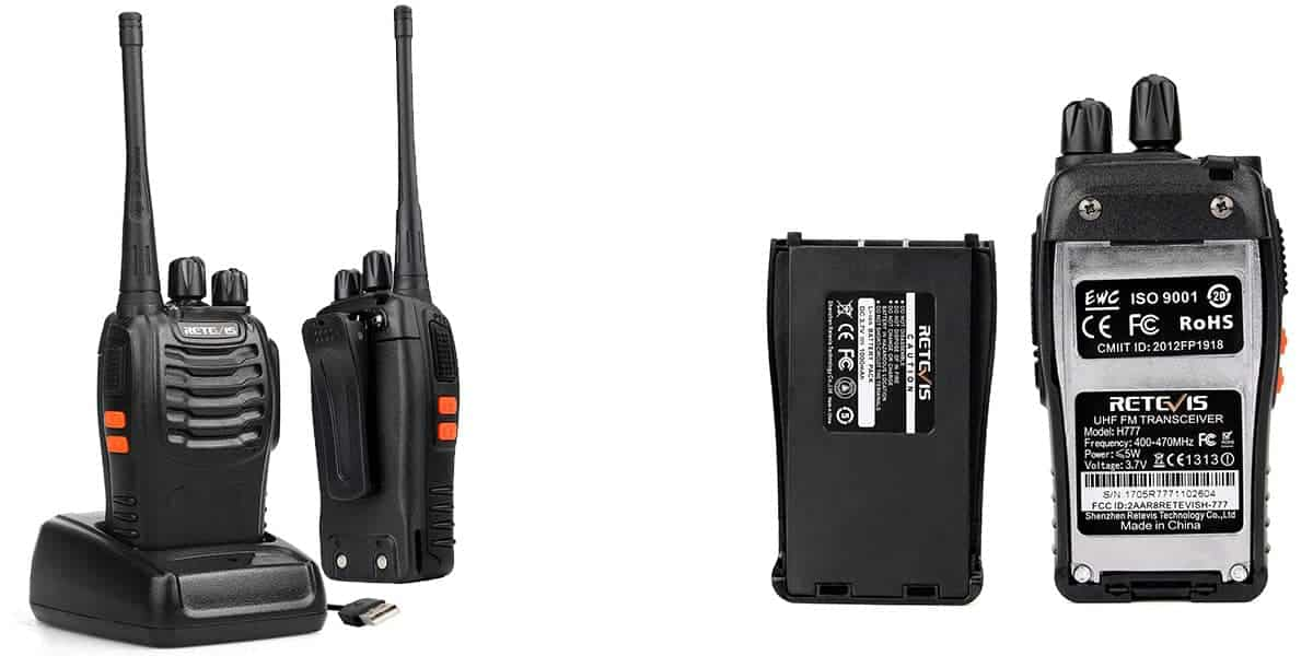 Retevis H-77 Two-Way UHF Radio