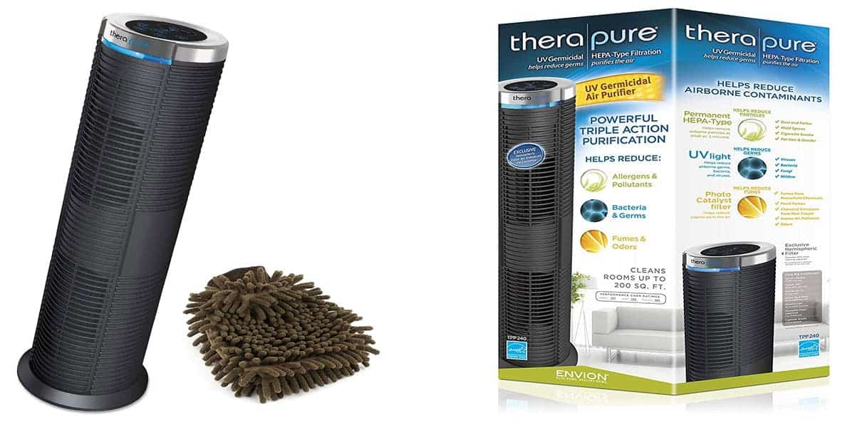 Therapure Air Purifier TPP240 – Best smoke remover and germs killer