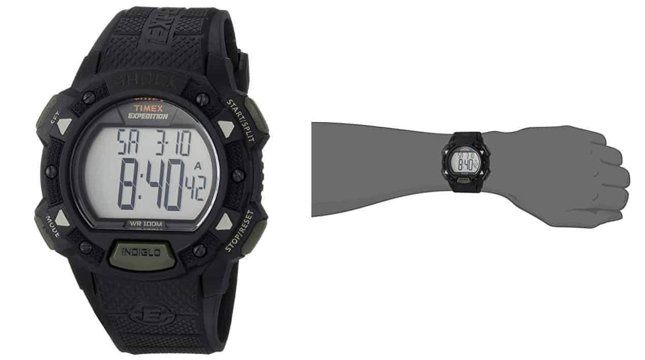 Timex Men's T49896 Expedition DigitalShock CAT - Robust Design