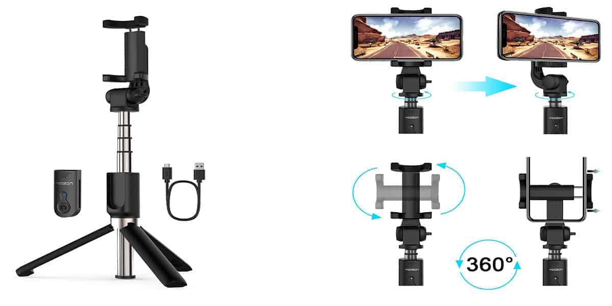 Yoozon's Bluetooth Selfie Stick and Tripod