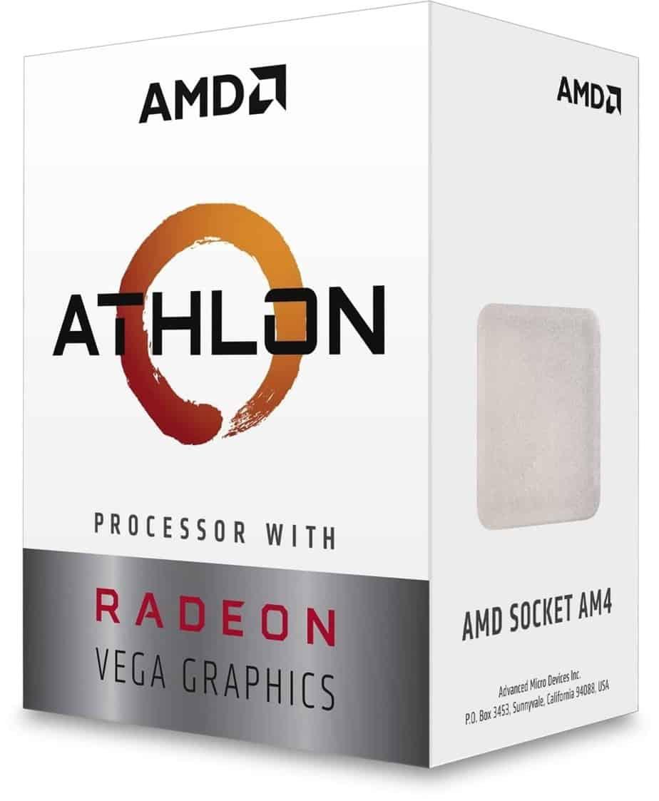 AMD 2019 Ahtlon 200GE