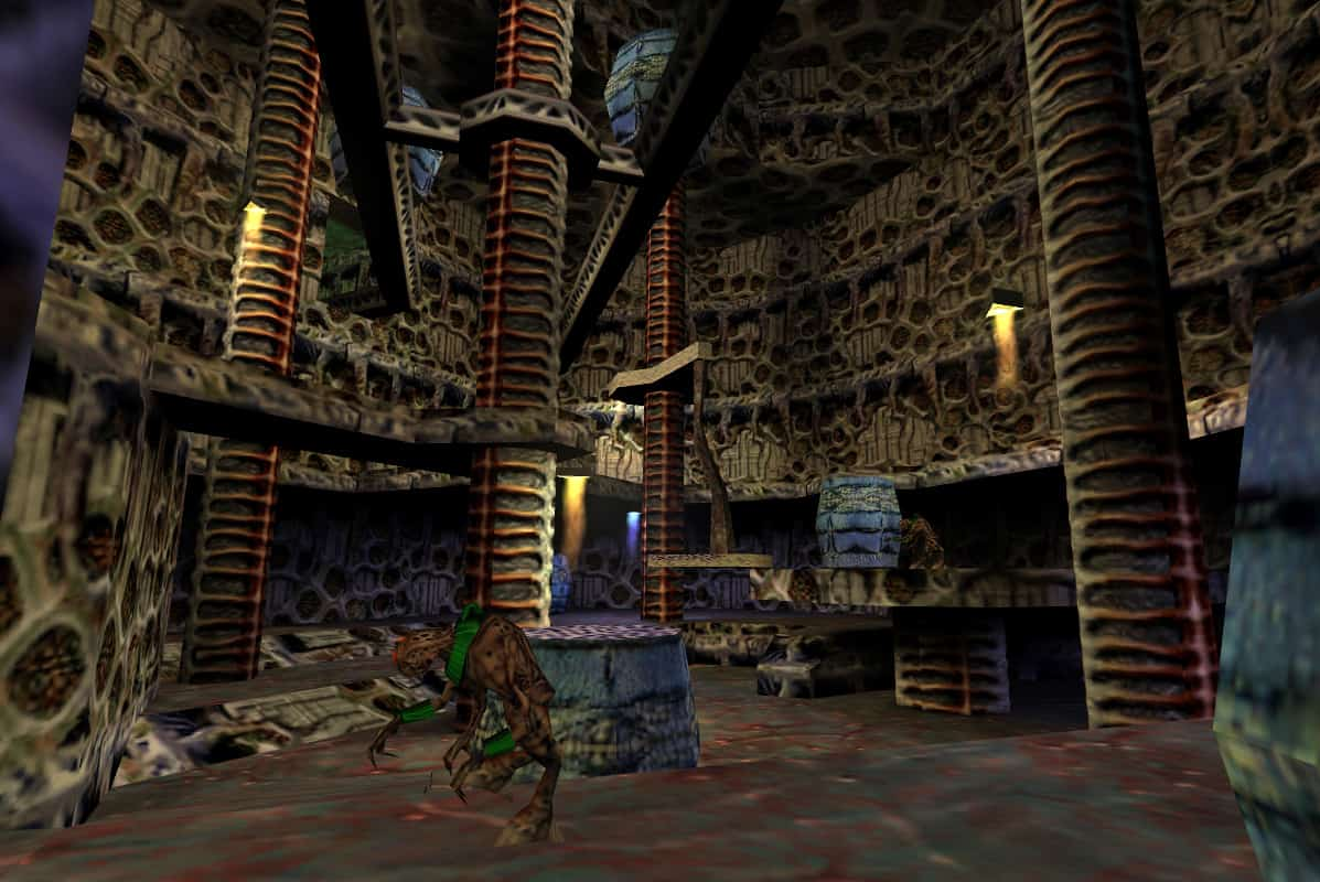 Half-Life 1 alien planet.