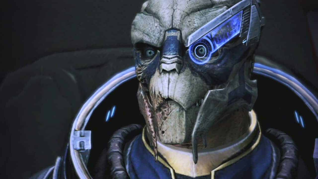 Mass Effect trilogy Garrus Vakarian