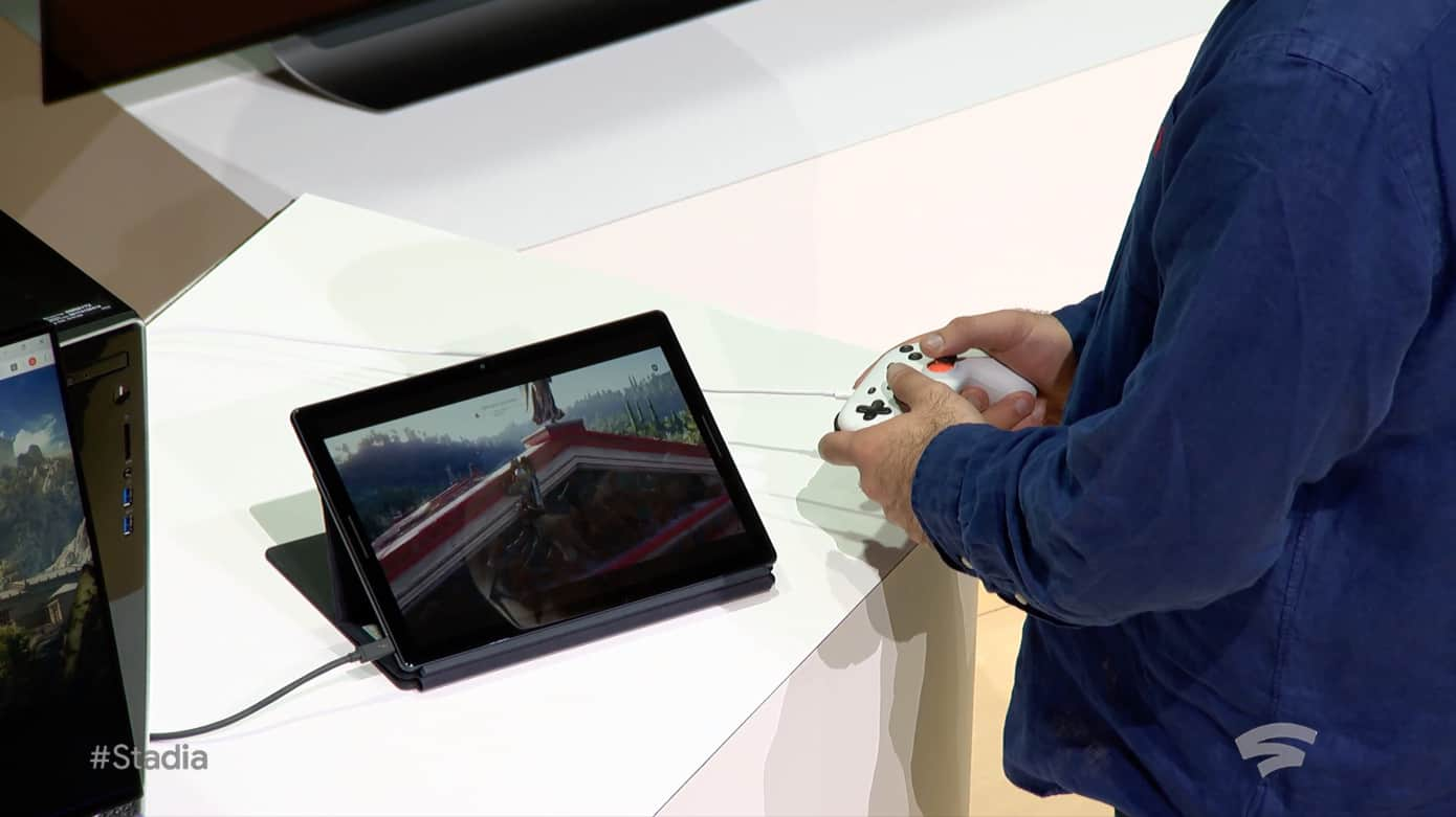 Google Stadia, game streaming service