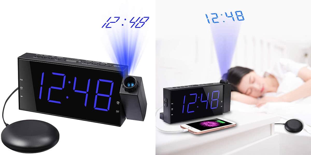 Mesqool Projection Clock