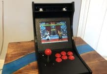 Classic arcade machine running on Raspberry Pi