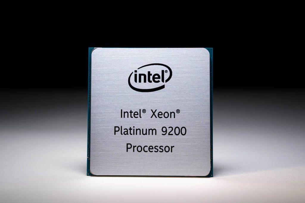Xeon Platinum 9200 series