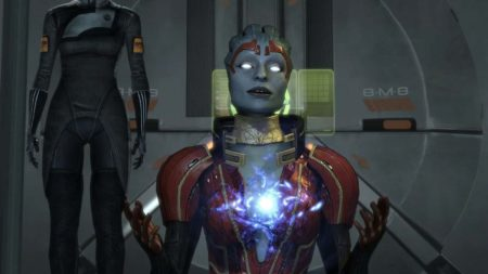 Mass Effect 2 with upscaled graphics