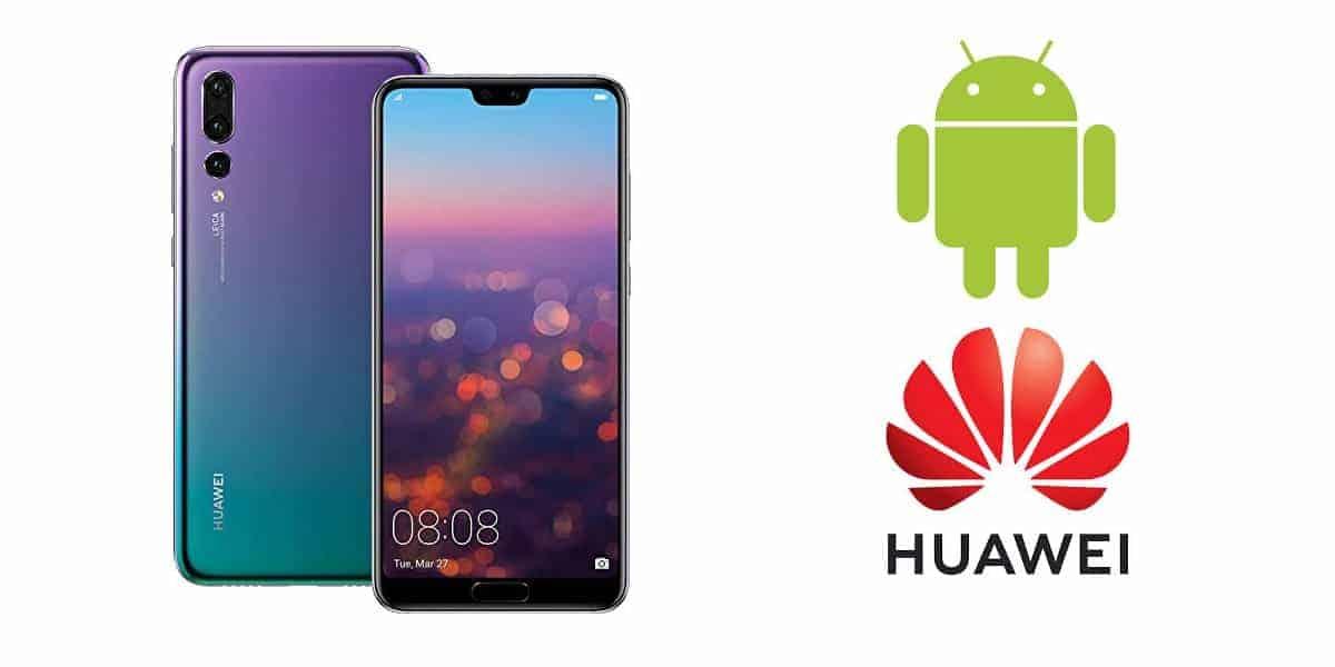 Google Huawei Business