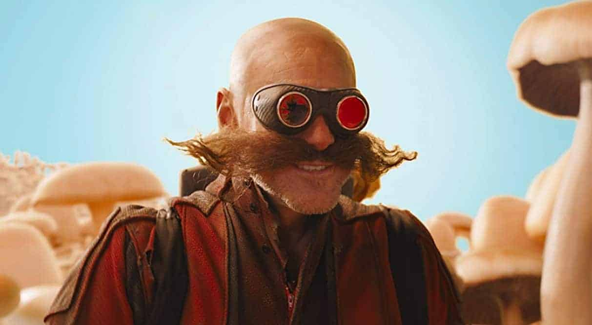 Sonic The Hedgehog's movie Dr. Robotnik