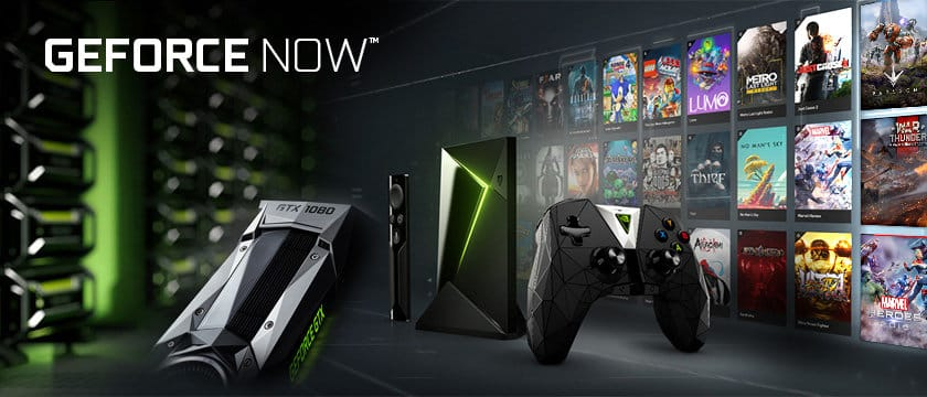 Nvidia GeForce Now cluoud gaming platform