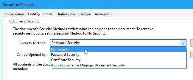 remove password PDF 1