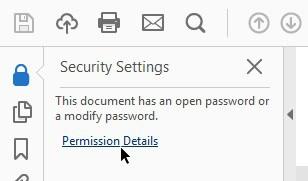remove password PDF