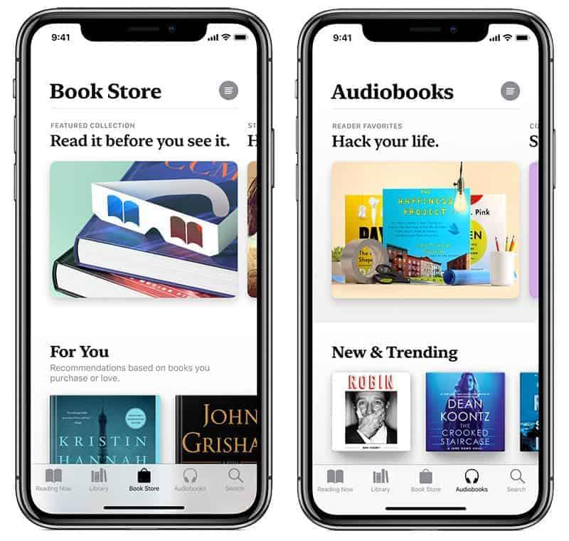 Redesigned Books App