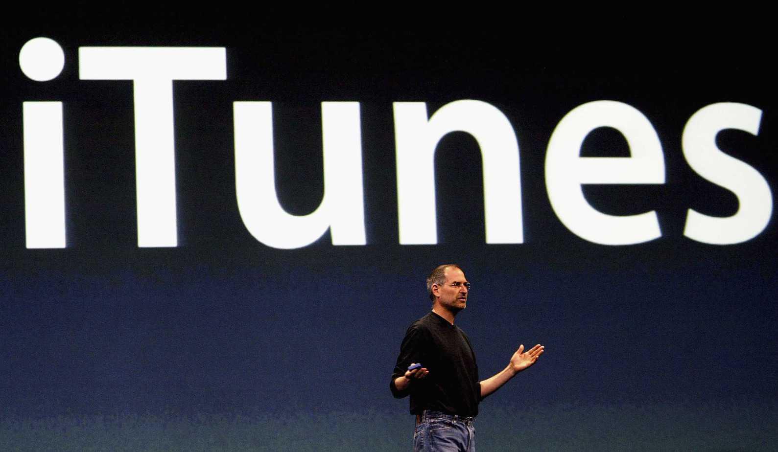Apple Launch iTunes