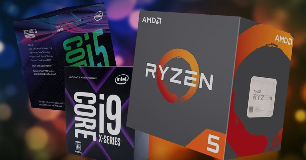 intel processors and amd ryzen