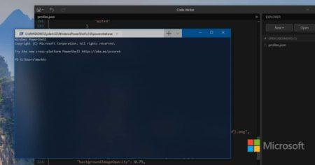 new microsoft terminal