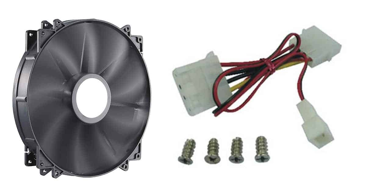 Cooler Master MegaFlow – Best 200mm Radiator fan