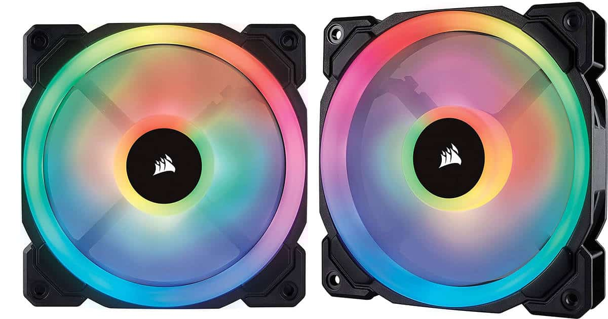 Corsair LL Series RGB – Best Radiator fan with RGB