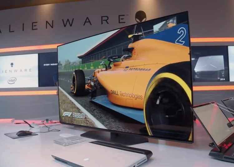 Alienware 4k 120hz display 1