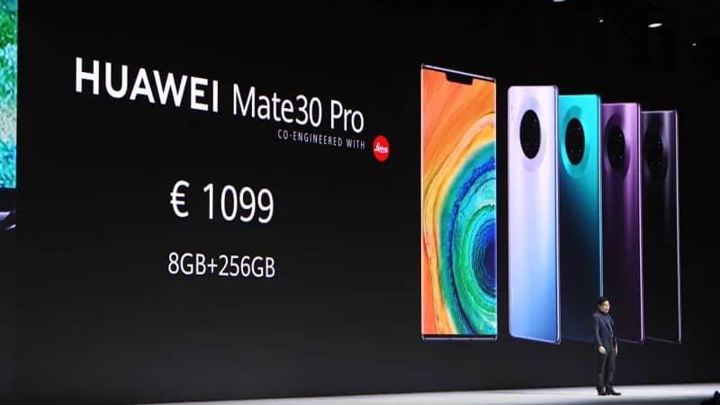 Huawei mate 30 launch 1