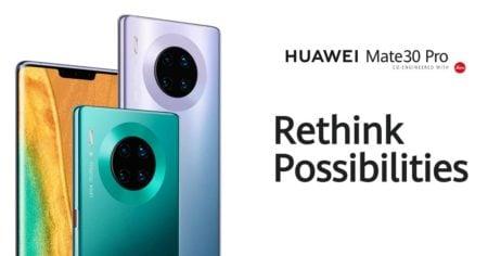 Huawei mate 30 launch 2