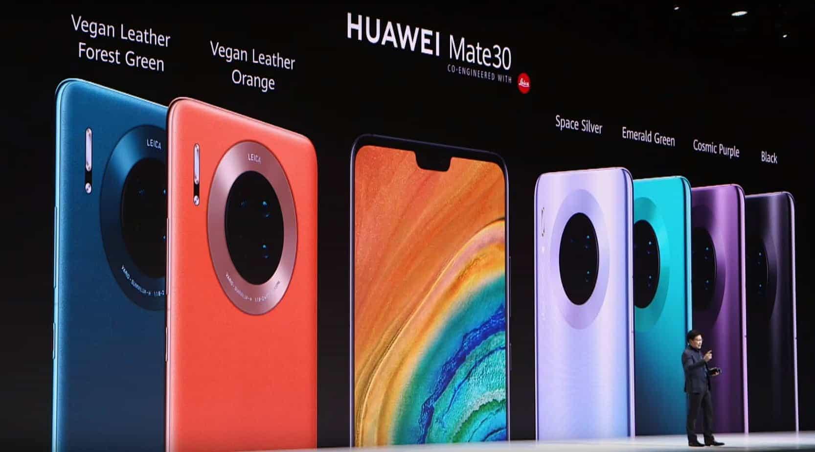 Huawei mate 30 launch
