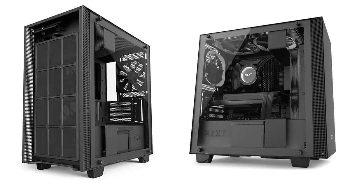 NZXT H400i – Best Mini Tower PC Case for 2019