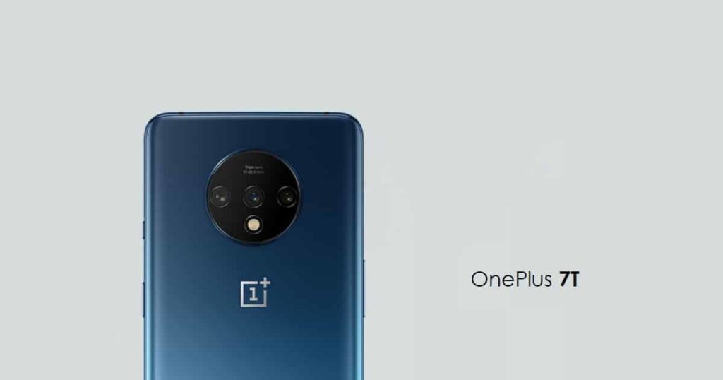 OnePlus 7T design and specifications