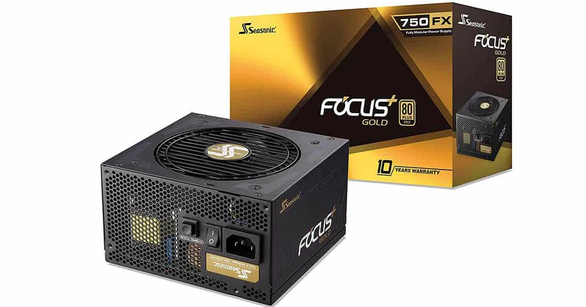 Seasonic FOCUS Plus 750 Gold SSR-750FX 750W