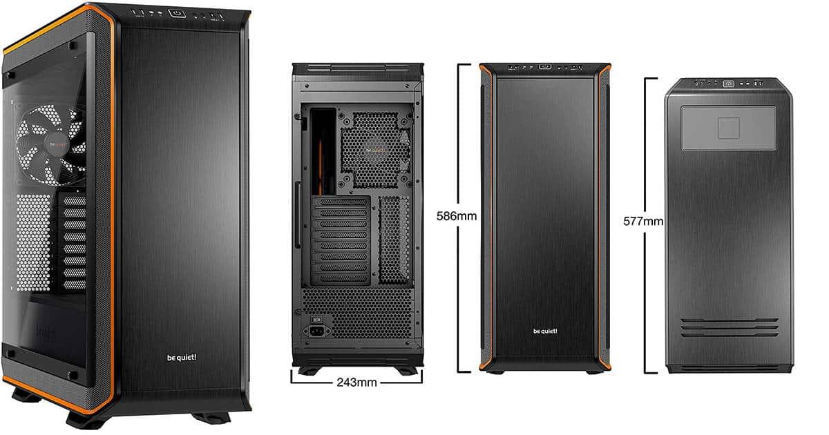be quiet! Dark Base Pro 900 – Most Silent PC Case
