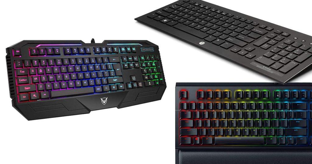 best silent gaming keyboards mechanical noiseless