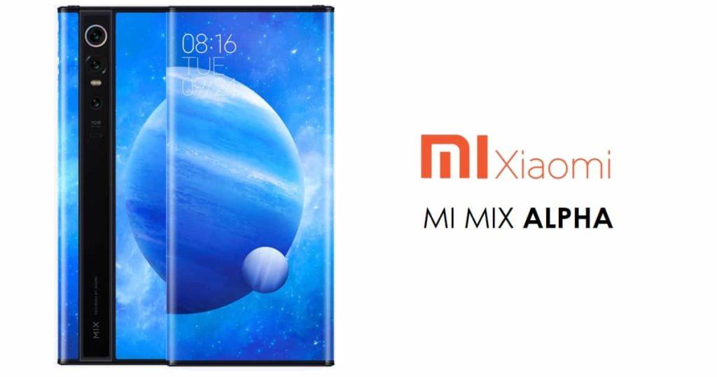 xiaomi foldable phone mi mix alpha