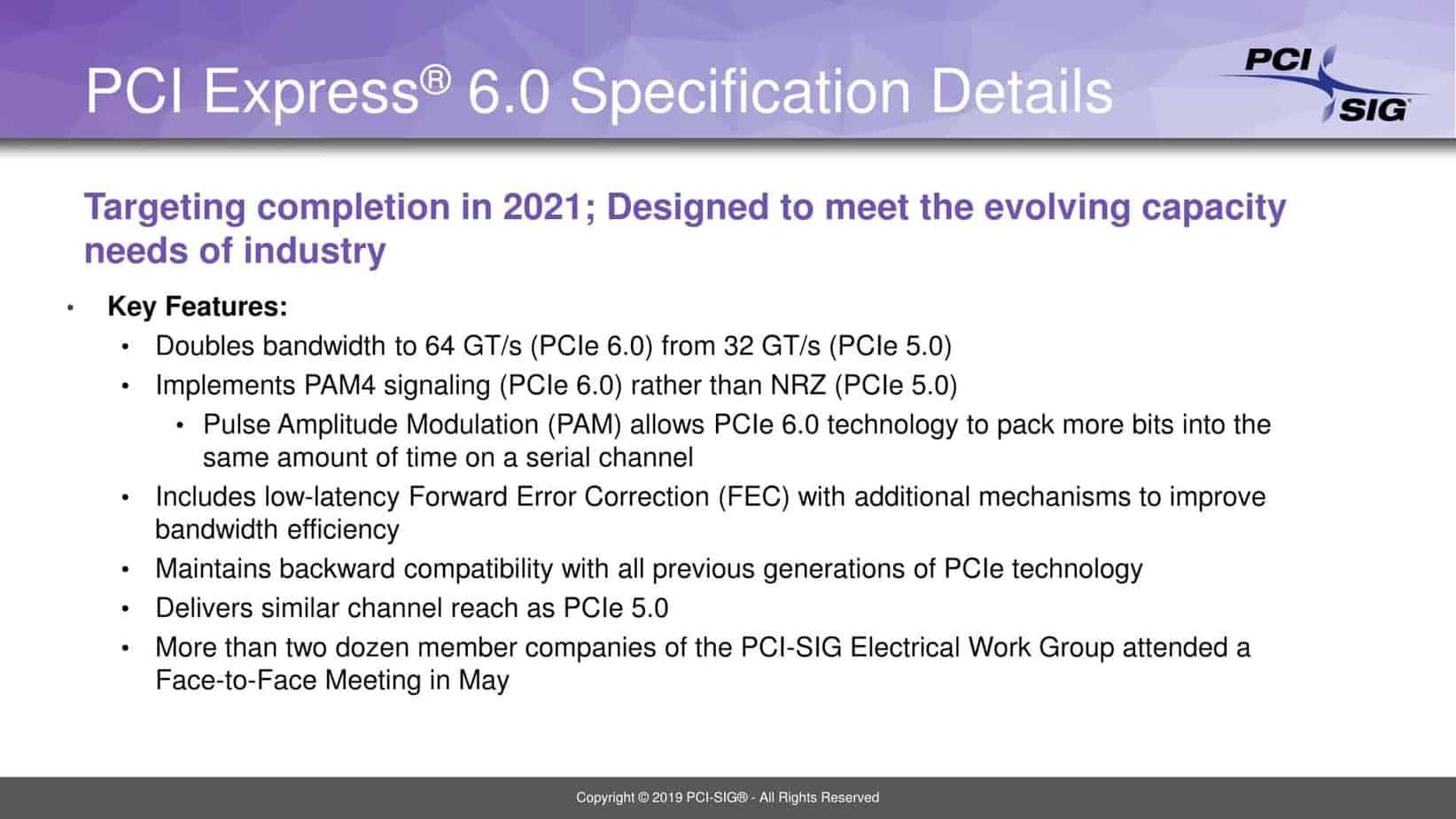 PCI Express Gen 6.0 3