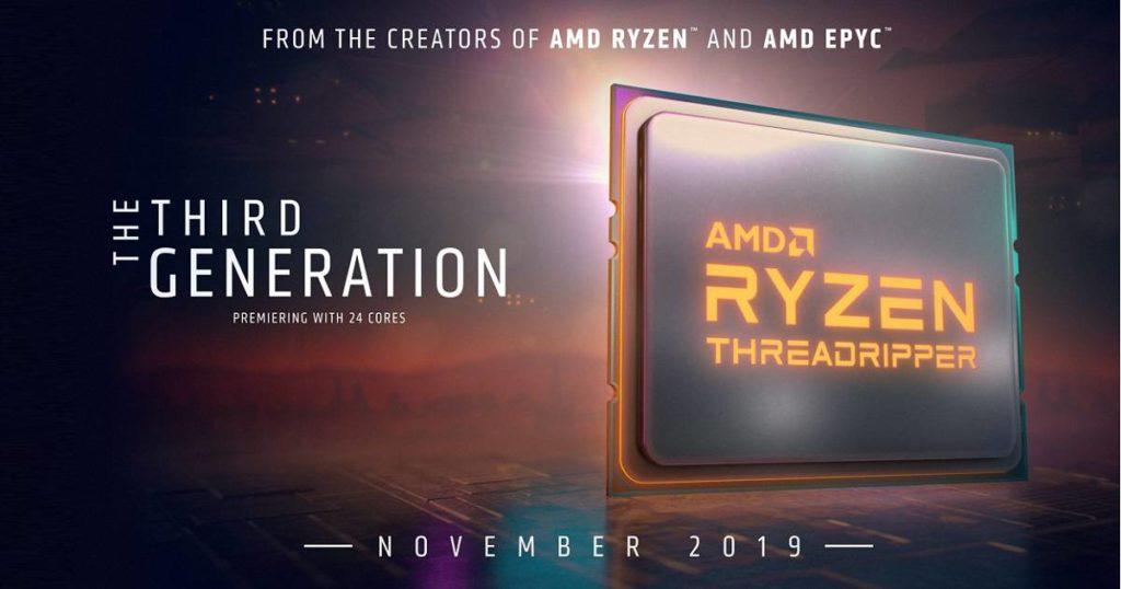 AMD Ryzen Threadripper 3000 3