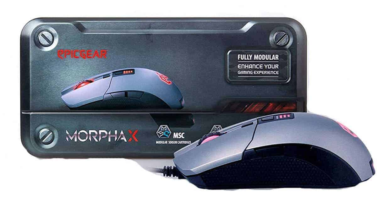 EpicGear MorphA X gaming mouse