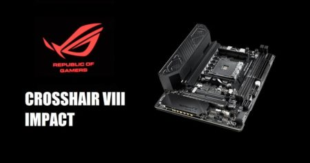 ROG Crosshair VIII Impact motherboard ASUS 4