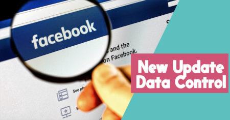 facebook data control update