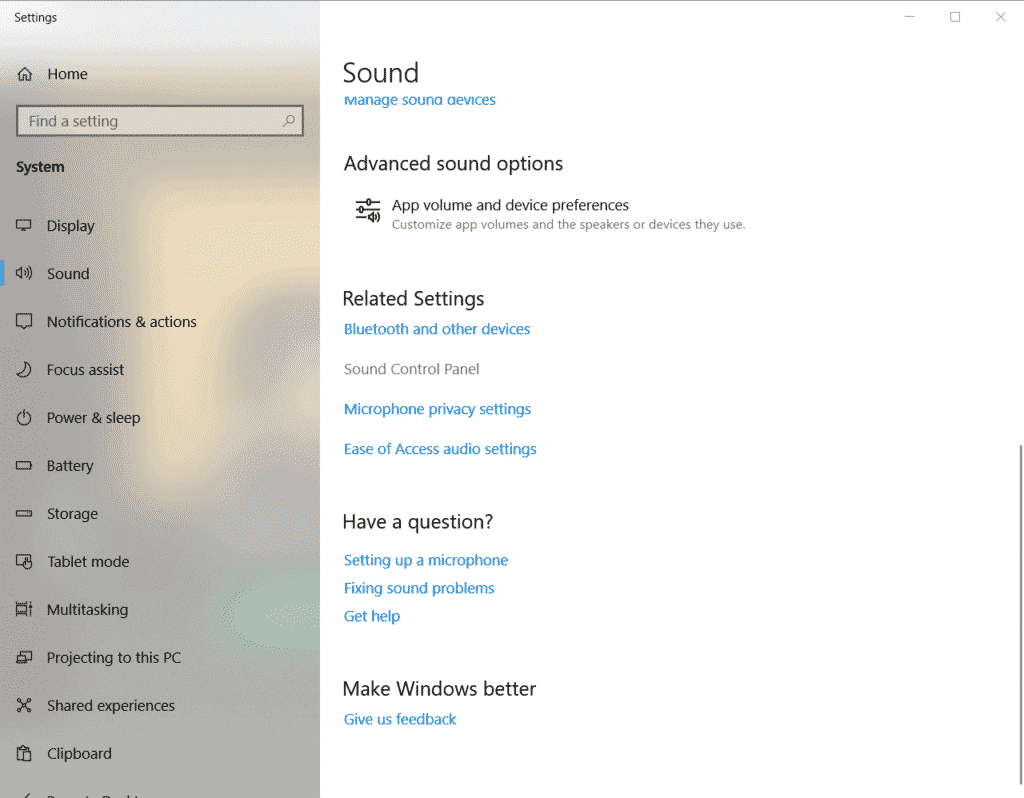 increase mic volume windows10 2