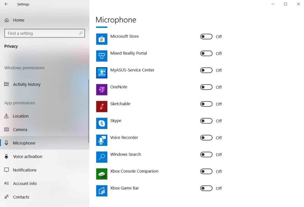 increase mic volume xbox windows10 5