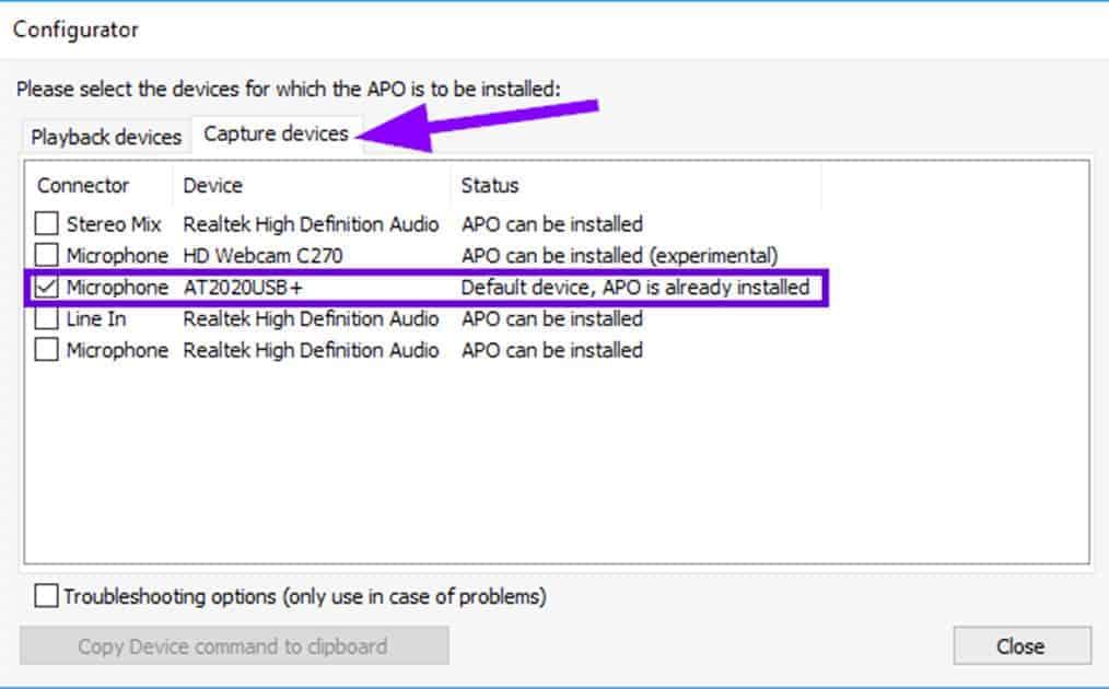 increase usb mic volume windows10 2