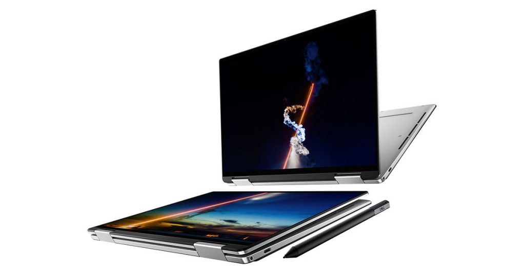 Dell XPS 13 2 in 1 7390 best 4k laptops 2020