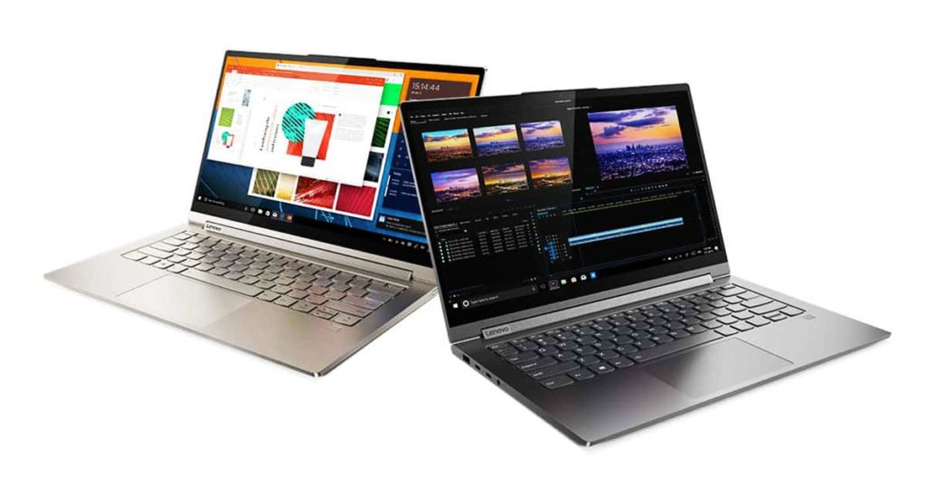 Lenovo Yoga C940 best 4k laptops 2020