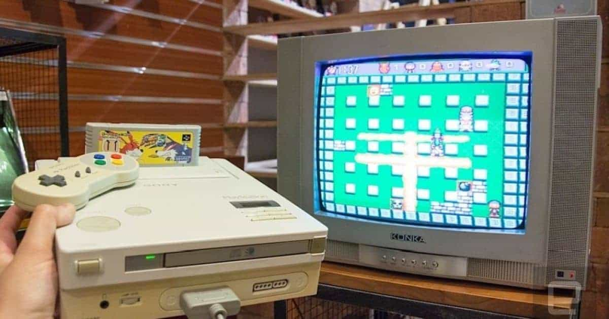 Nintendo PlayStation working