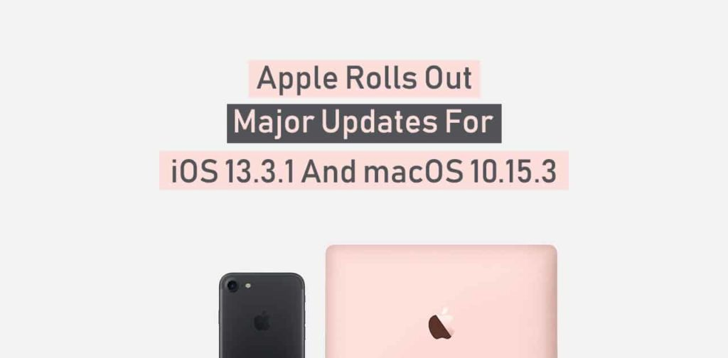 iOS and macOS updates