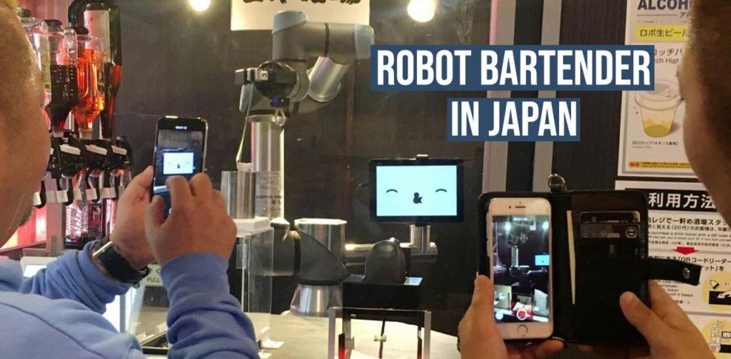 japanese robot bartender