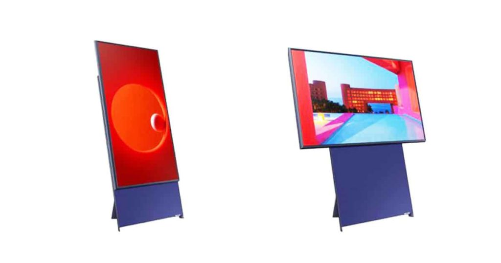 samsung rotating tv the sero1
