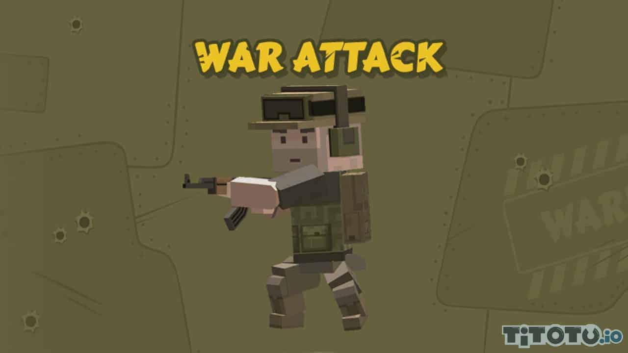 jeu d'attaque de guerre - Jeux de tir à la première personne