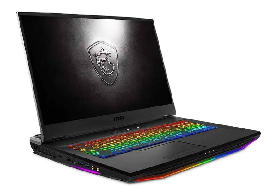 CUK MSI GT76 Titan DT Extreme Gamer Notebook